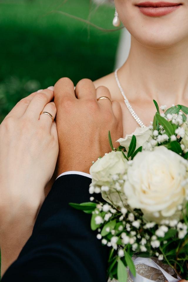bague rose pour le mariage